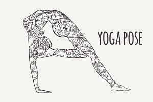 Yoga PDF, PNG, EPS10 №6