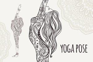 Yoga PDF, PNG, EPS10 №7