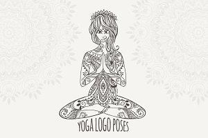 Yoga PDF, PNG, EPS10 (№8)