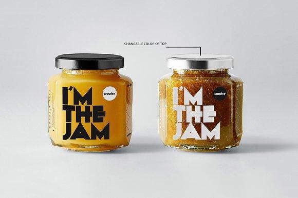 Jam Jar Mockups in Product Mockups - product preview 1