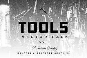Hand Tool Vector Set
