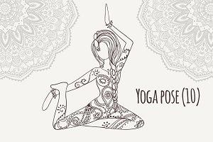 Yoga PDF PNG EPS10 №10