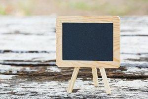 Table top blackboard