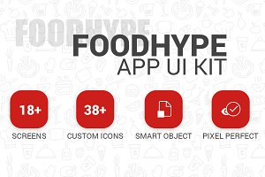 FoodHype | App UI Kit