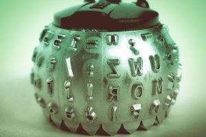 Typeball print head