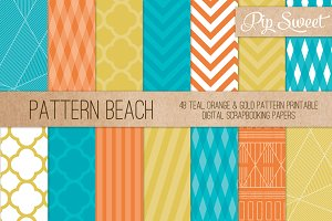 Beach Colour 48 Pattern Set