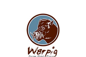 Warpig Energy Drink Logo