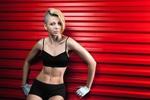 sexy fashion fitness woman
