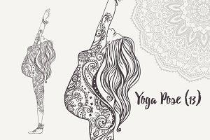 Yoga PDF PNG EPS10 №13