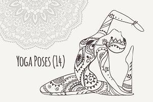 Yoga PDF PNG EPS10 №14