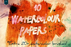 watercolour aquarel textured papers