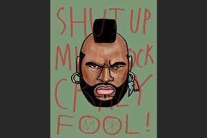 Mr. T Fanart by MO