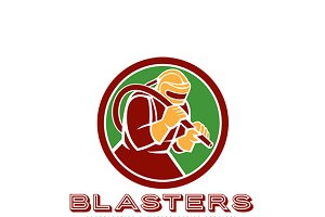 Blasters Sandblasting Logo