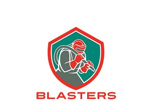 Blasters Sandblasting Services Logo