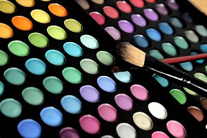 colorful, eye shadows