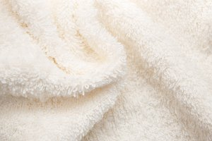 Bath fluffy towel