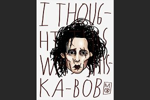 Edward Scissorhands Fanart by MO