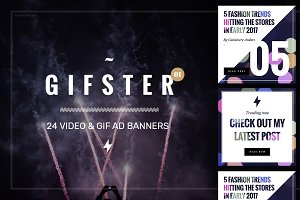 Gifster Video & Animated GIF Banners