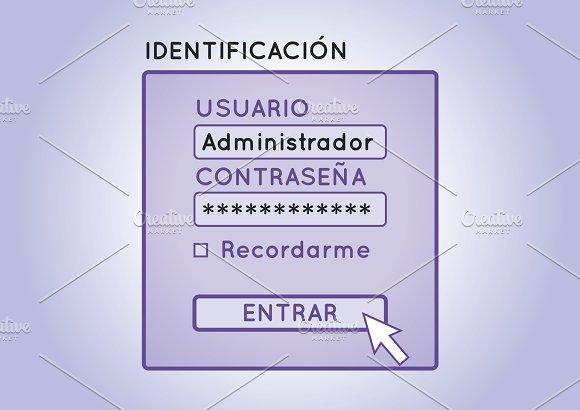 Login Identificacion De Usuario
