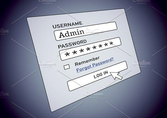 Login Username Password