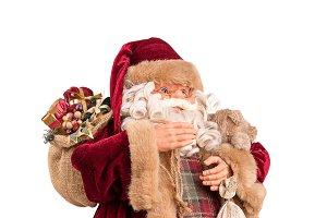 Portrait of a Santa Claus