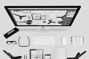 Minimal Bundle Office Desk