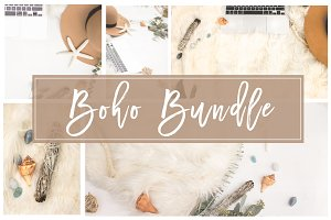 Boho Bundle |Stock Photos + Mockups
