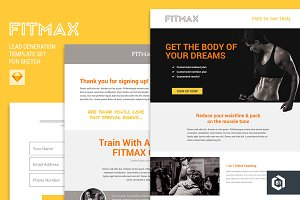 FITMAX Lead Generation Template Set