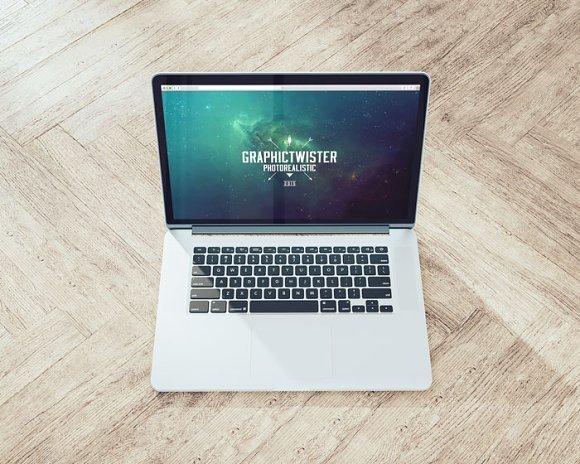 MacBook On The Floor