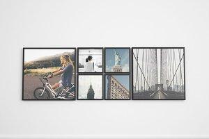 Frame Gallery Mockup