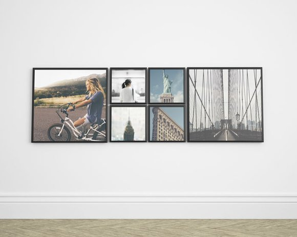 Download Frame Gallery Mockup