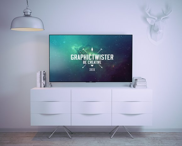 Sony TV Mockup in Product Mockups - product preview 1