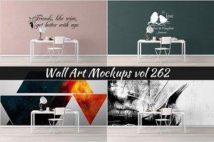 Wall Mockup - Sticker Mockup Vol 262