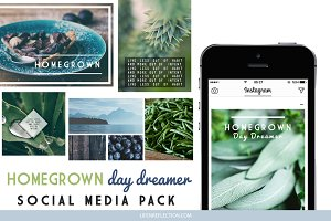 Social Media Pack: HOMEGROWN
