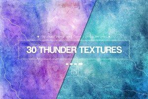 30 Thunder Textures