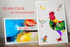 Color Splash Objects and Backgrounds