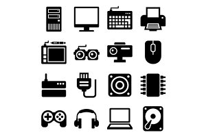 Computer Icons Set