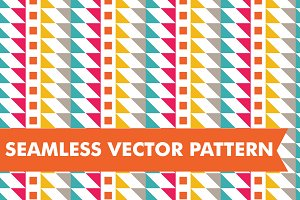 Seamless Vector Aztec Stripes