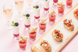 Party food concept