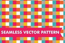 Seamless Vector Checkered Squares