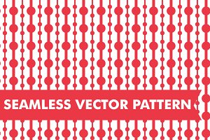 Seamless Vector Beads Pattern