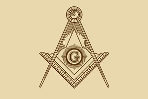 Masonic Freemasonry Emblem Icon