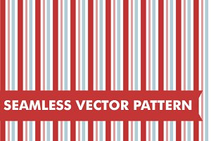Red and Blue Stripes Seamless Vector