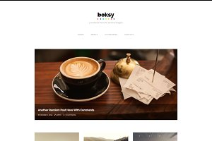 Boksy - WordPress Theme for Bloggers