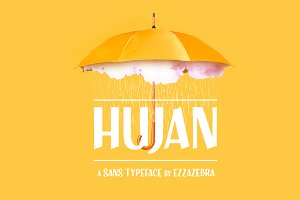 Hujan Typeface