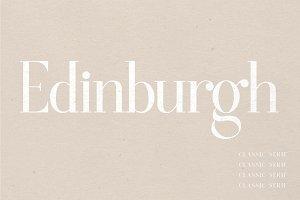 Edinburgh | A Classic Serif