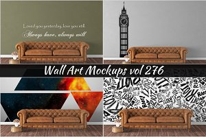 Wall Mockup - Sticker Mockup Vol 276