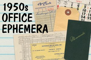 Mid-Century Office Ephemera