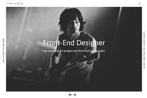 Portfolio Site with Muse
