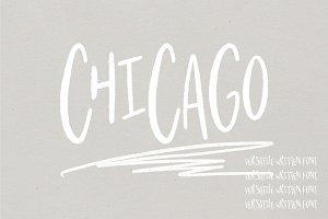 Chicago | A Hand Written Typeface